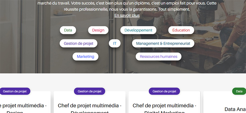 La formation web sur OpenClassrooms